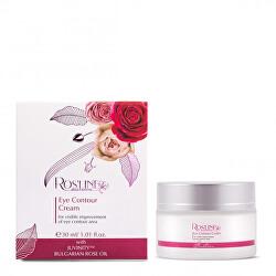 Očný krém Juvinity Rosline Argan Rose Oil (Eye Contour Cream) 30 ml