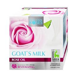 Vyživující denní pleťový krém pro normální a smíšenou pleť Roses and Goats Milk (Nourishing Day Cream) 50 ml