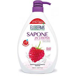 Krémové mýdlo na ruce, tělo a obličej Červené ovoce (Soap Cream) 1000 ml
