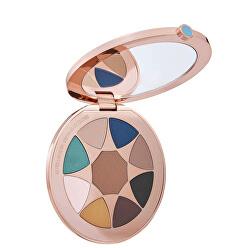 Paletă cu farduri de ochi Bronze Goddess Azur The Summer Look Palette 6,8 g
