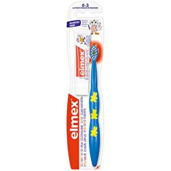 Cvičný zubní kartáček pro děti od 0-3 let