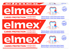 Zubní pasta Caries Protection 3 x 75 ml