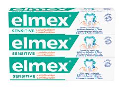 Zubní pasta pro citlivé zuby Sensitive 3 x 75 ml