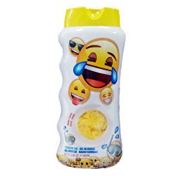 Sprchový gel pro děti + houbička na mytí Emoji 450 ml
