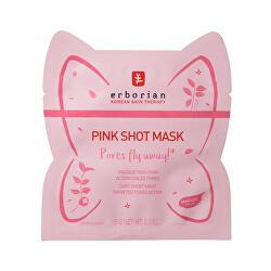 Pleť ová maska na rozšírené póry Pink Shot Mask ( Care Sheet Mask) 5 g