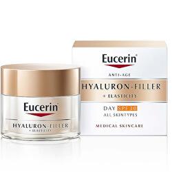 Denný krém proti vráskam SPF 30 Hyaluron-Filler + Elasticity 50 ml