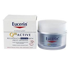 Regeneračný nočný krém proti vráskam pre všetky typy citlivej pleti Q10 Active 50 ml