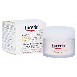 Vyhladzujúci denný krém proti vráskam pre všetky typy citlivej pleti Q10 Active 50 ml