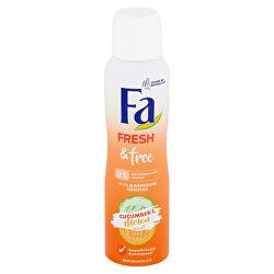Deodorant Fresh & Free Cucumber & Melon (48H Deodorant) 150 ml