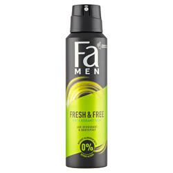 Deodorant ve spreji Men Fresh & Free Mint & Bergamot (48h Deodorant Bodyspray) 150 ml