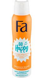 Antiperspirant ve spreji Go Happy (Anti-perspirant) 150 ml