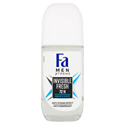 Kuličkový antiperspirant Men Xtreme Invisible Fresh 72H (Anti-perspirant) 50 ml