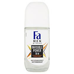 Kuličkový antiperspirant Men Xtreme Invisible Power 72H (Anti-perspirant) 50 ml