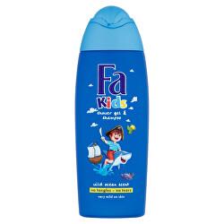 Sprchový gel a šampon se svěží vůní Kids (Shower Gel & Shampoo) 250 ml