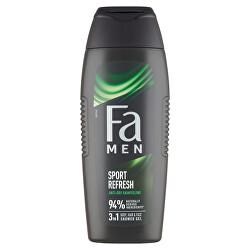 Sprchový gel Men Xtreme Sport Refresh (3in1 Shower Gel) 400 ml