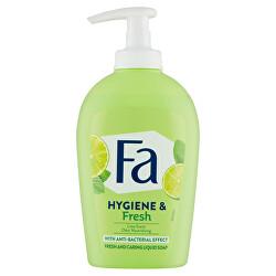 Tekuté mýdlo s antibakteriálním účinkem Hygiene & Fresh Lime (Fresh & Caring Liquid Soap) 250 ml