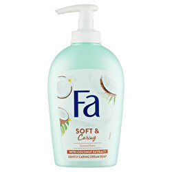 Tekuté mýdlo Soft & Caring Coconut (Gently Caring Cream Soap) 250 ml