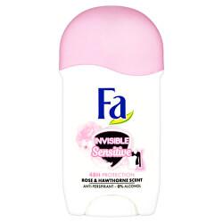 Tuhý antiperspirant Invisible Sensitive Rose & Hawthorne (Anti-perspirant) 50 ml