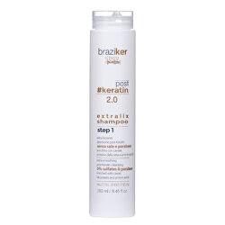 Jemný šampon po narovnání keratinových vlasů Braziker (Extralix Shampoo) 250 ml