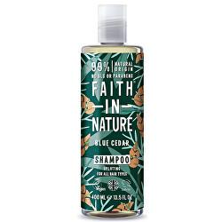 Přírodní šampon pro muže Modrý cedr (Shampoo) 400 ml