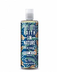 Přírodní sprchový gel Modrý cedr (Body Wash) 400 ml