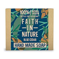 Přírodní tuhé mýdlo Modrý cedr (Hand Made Soap) 100 g