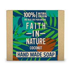 Rostlinné tuhé mýdlo Kokos (Hand Made Soap) 100 g