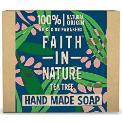 Rostlinné tuhé mýdlo Tea Tree (Hand Made Soap) 100 g