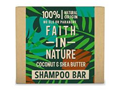 Tuhý šampon Kokos a bambucké máslo (Shampoo Bar) 85 g