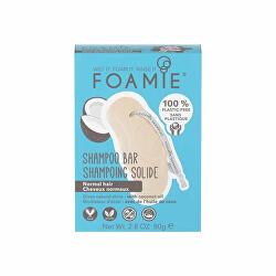 Tuhý šampon pro normální vlasy Shake Your Coconuts 80 g