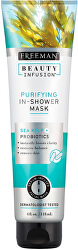 Čisticí maska do sprchy Mořské řasy + Probiotika + sérum Beauty Infusion 118 ml
