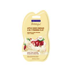 Multifunkčná pleťová maska s jablčným octom (Apple Cider Vinegar 4-in-1 Foaming Clay)