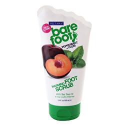 Samozahřívací peeling na nohy s mátou a švestkou (Warming Foot Scrub Peppermint + Plum) 100 ml