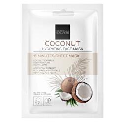 Hydratačná pleťová textilná maska Coconut (Hydrating Sheet Face Mask) 1 ks