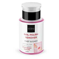 Odlakovač na nehty bez acetonu (Nail Polish Remover) 200 ml