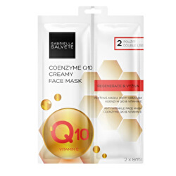 Pleť ová maska Coenzyme Q10 (Creamy Face Mask) 2 x 8 ml