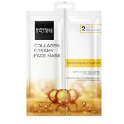 Pleť ová maska Collagen (Creamy Face Mask) 2 x 8 ml