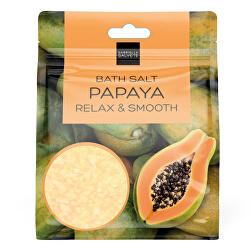 Sůl do koupele Papaya Relax & Smooth (Bath Salt) 80 g