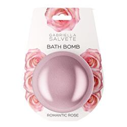 Bombă de baie efervescenta Romantic Rose (Bath Bomb) 100 g