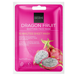 Upokojujúci pleťová plátýnková maska Dragon Fruits (Soothing Sheet Face Mask) 1 ks
