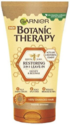 Bezoplachový krém na poškozené délky vlasů Botanic Therapy (Restoring 3 in 1 Leave-In) 150 ml