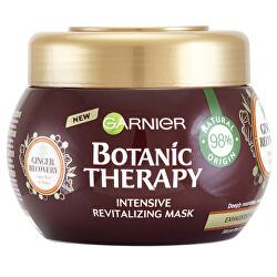 Revitalizační maska se zázvorem a medem pro mdlé a jemné vlasy Botanic Therapy (Revitalizing Mask) 300 ml