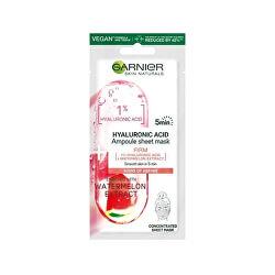 Síla ampulí v textilní masce s kyselinou hyaluronovou a extraktem z vodního melounu Skin Naturals 15 g