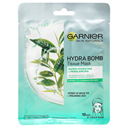 Superhydratační čisticí pleťová maska se zeleným čajem Moisture + Freshness (Tissue Super Hydrating & Purifying  mask) 28 g