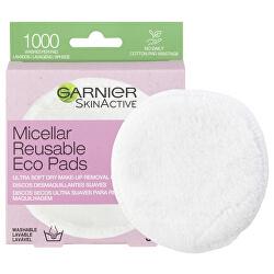 Znovupoužitelné odličovací tampony Skin Active (Ultra Soft Dry Make-Up Removal Pads) 3 ks