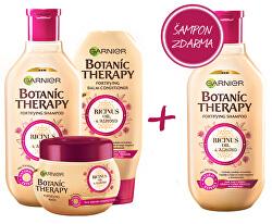 Zvýhodněné balení Botanic Therapy Ricinus Oil & Almond 400 ml