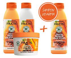 Zvýhodněné balení Fructis Hair Food Papaya