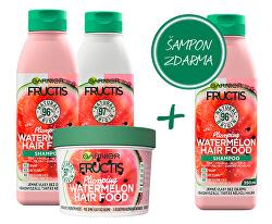 Zvýhodněné balení Fructis Hair Food Watermelon
