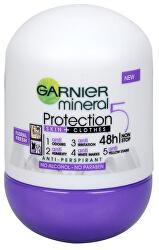 Minerální antiperspirant 5 Protection Floral Fresh 48h Roll-on pro ženy 50 ml