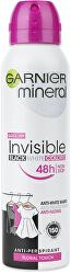 Minerální deodorant pro dlouhotrvající svěžest ve spreji Invisible 150 ml